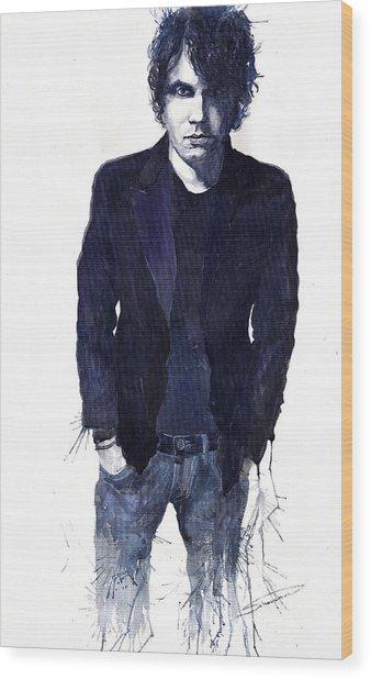 Jazz Rock John Mayer 07 Wood Print