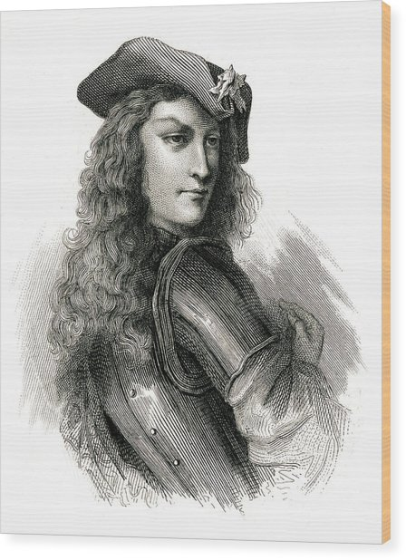 Jean Cavalier  French Insurgent, Leader Wood Print by Mary Evans Picture Library