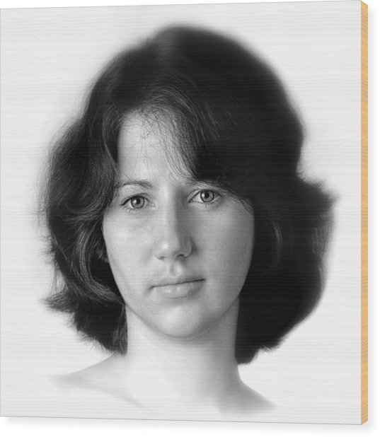 Jennifer Wood Print by Dennis James