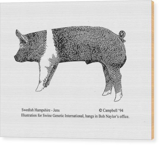 Swedish Hampshire Wood Print
