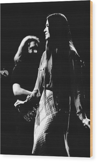 Jerry And Donna Godchaux 1978 Wood Print
