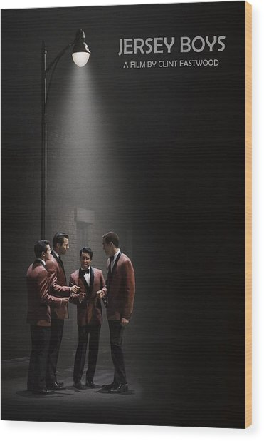 Jersey Boys By Clint Eastwood Wood Print