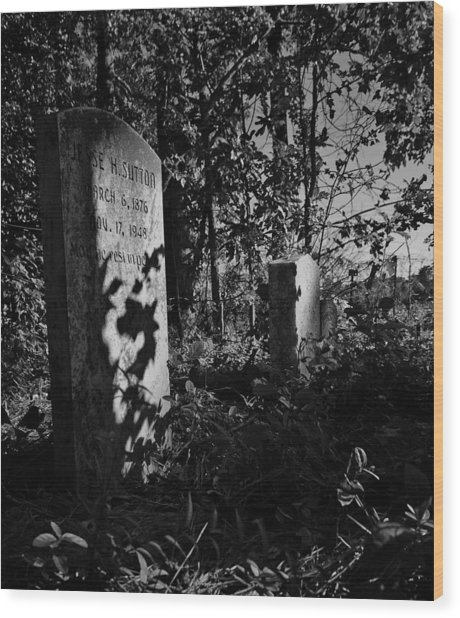 Jesse Sutton  Wood Print