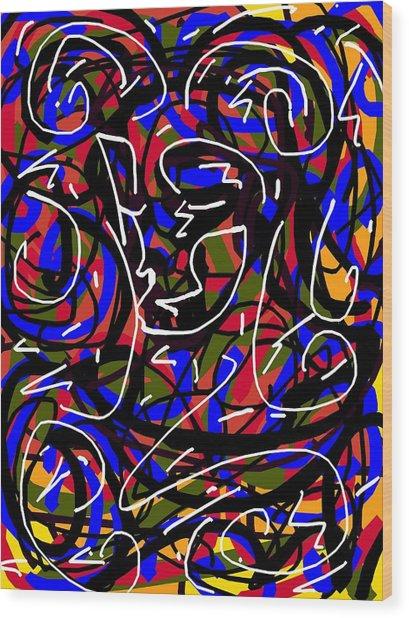 Jester Wood Print