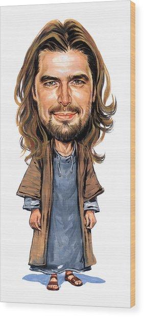 Jesus Wood Print by Art