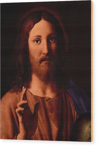 Jesus Christ Wood Print