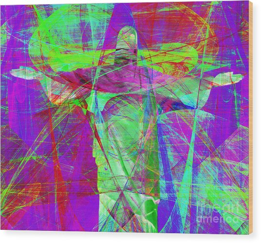 Jesus Christ Superstar 20130617m118 Horizontal Wood Print by Wingsdomain Art and Photography
