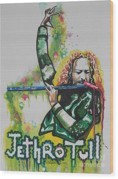 Jethro Tull Wood Print