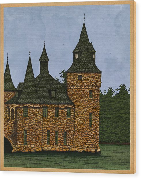 Jethro's Castle Wood Print