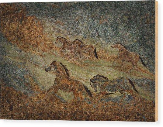 Jewels Of The Nile Wood Print