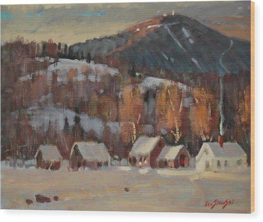 Jimmy Alibozek's Place Wood Print