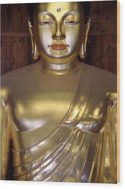 Jogyesa Buddha Wood Print