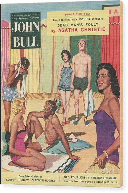 John Bull 1950s Uk Holidays Suntans Wood Print by The Advertising Archives