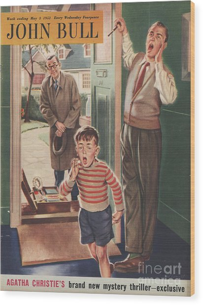 John Bull 1952 1950s Uk Travelling Wood Print by The Advertising Archives