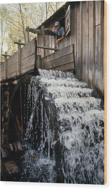 John Cable Mill, Cades Cove, Tennessee Wood Print