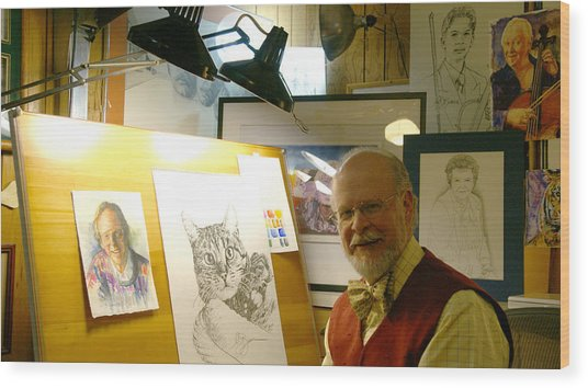 John D Benson Wood Print