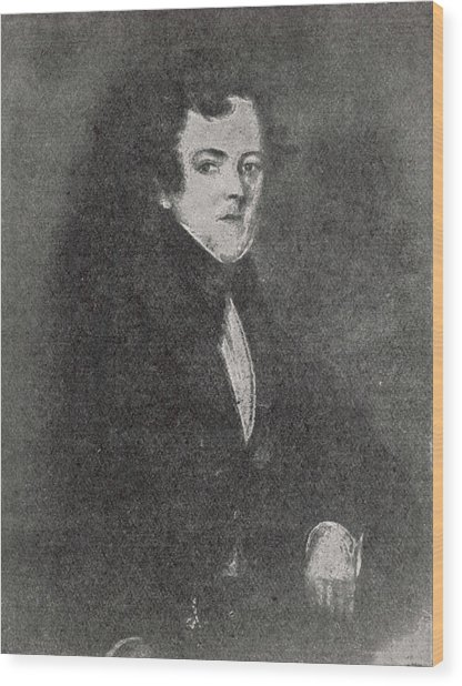 John Dickens  Father Of Charles Wood Print by Mary Evans Picture Library