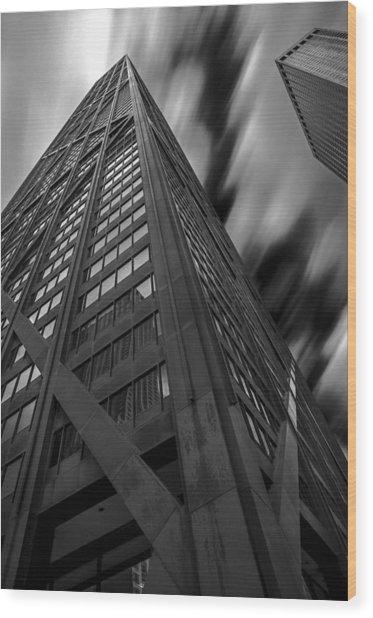 John Hancock Building 73a7300 Wood Print