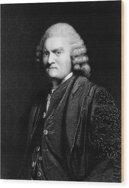 John Pringle Wood Print by National Library Of Medicine