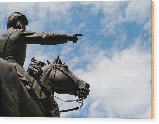 John Reynolds - Gettysburg General Wood Print