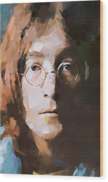John The Beatles Wood Print