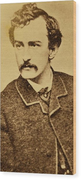 John Wilkes Booth Wood Print