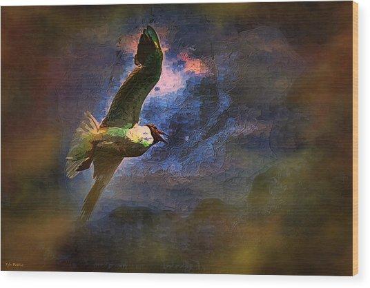 Johnathon Livingston Seagull Wood Print