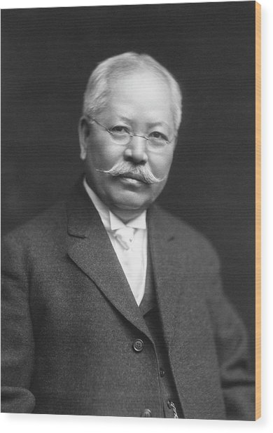 Jokichi Takamine Wood Print by Chemical Heritage Foundation