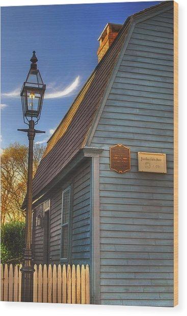 Jonathan Gibbs House Wood Print