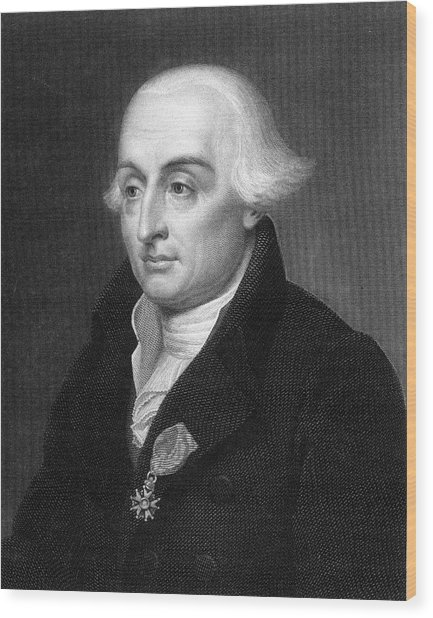 Joseph Louis Lagrange  French Scientist Wood Print by Mary Evans Picture Library