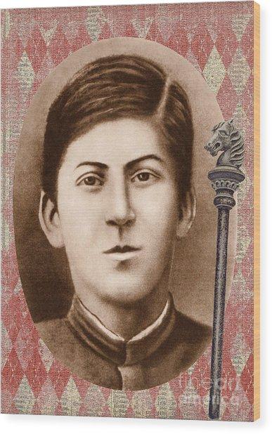 Joseph Stalin 14 Years Old Wood Print