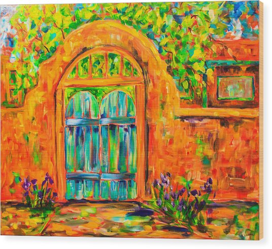 Josephina's Gate Wood Print