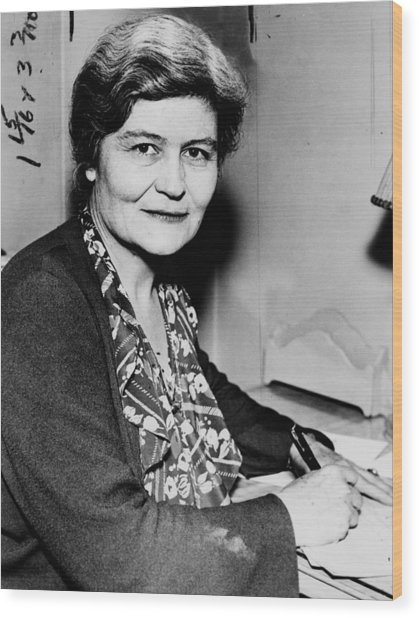 Josephine Roche (1886-1976) Wood Print by Granger