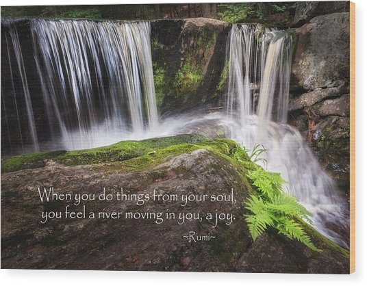Joy Wood Print