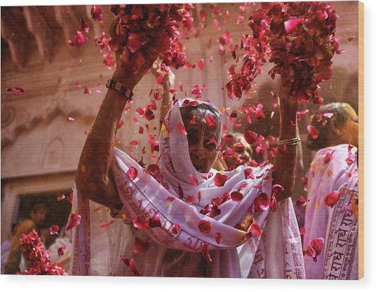 Joy Of Life Wood Print by Avishek Das