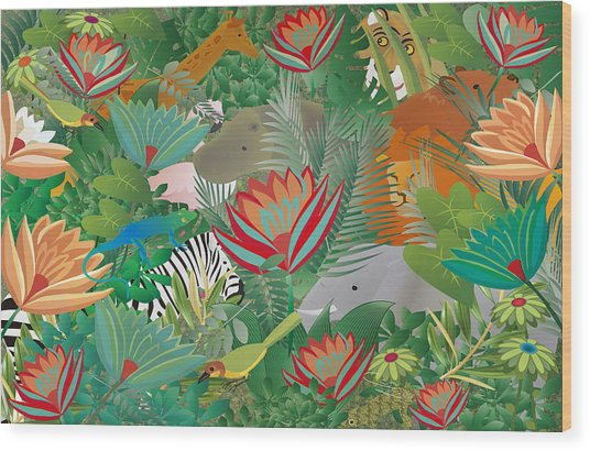 Joy Of Nature Limited Edition 2 Of 15 Wood Print