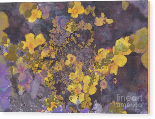 Joyous Meadow 2 Wood Print