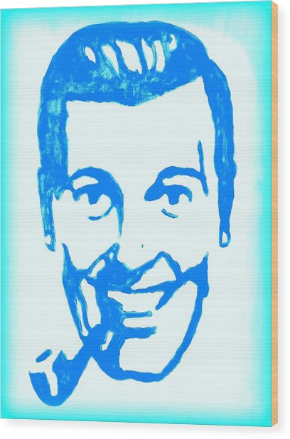 J.r. Bob Dobbs Pop Art Church Subgenius Wood Print