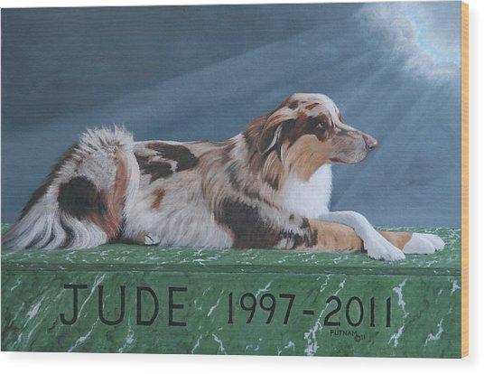 Jude's Farewell Wood Print