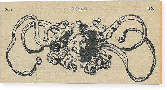 Jugend Jester Wood Print