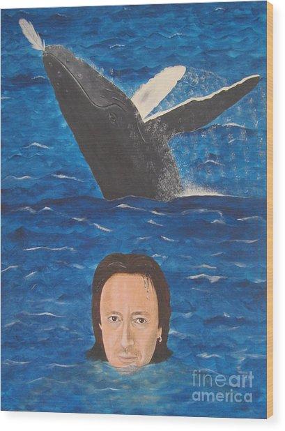 Julian Lennon Wood Print