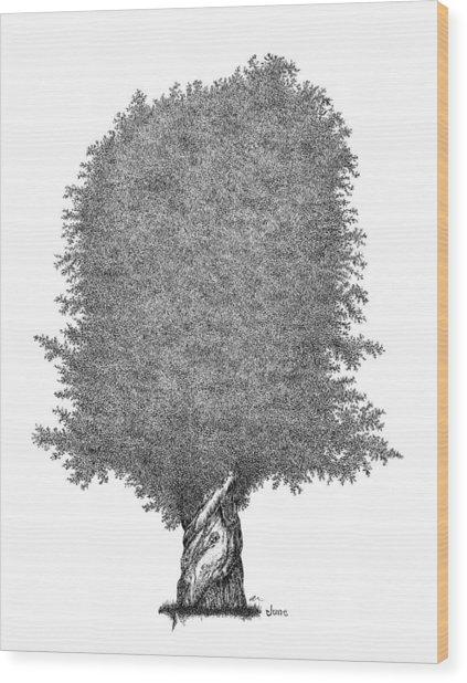 June '12 Wood Print