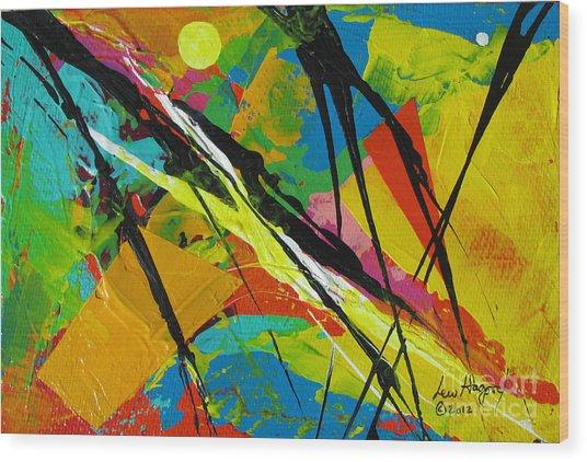 Jungle3 Wood Print