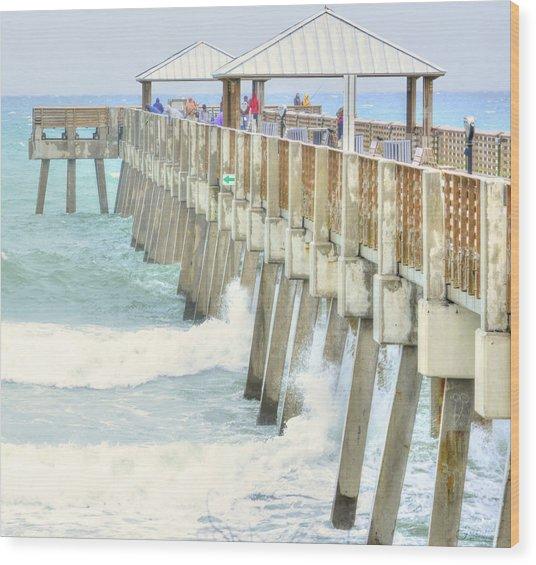 Juno Pier Wood Print