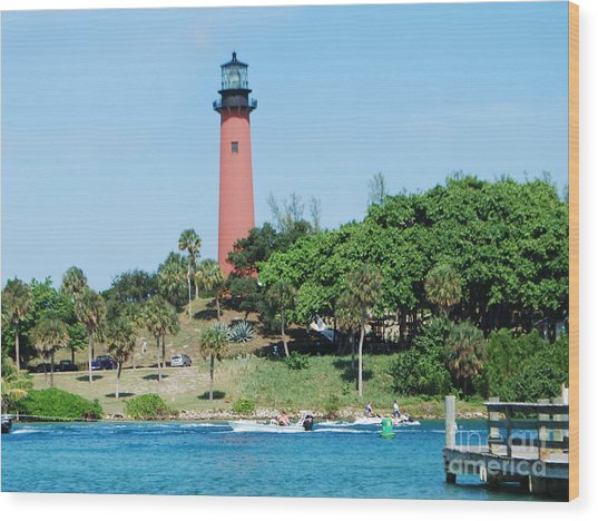 Jupiter Inlet Wood Print