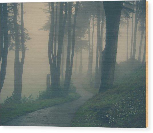 Just Whisper Wood Print