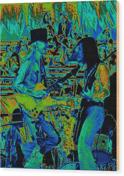 Jwinter #5 Enhanced Colors 1 Wood Print
