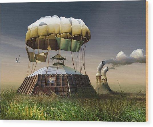 K201 Wood Print by Radoslav Penchev