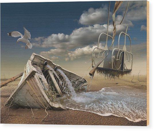 K205 Wood Print by Radoslav Penchev