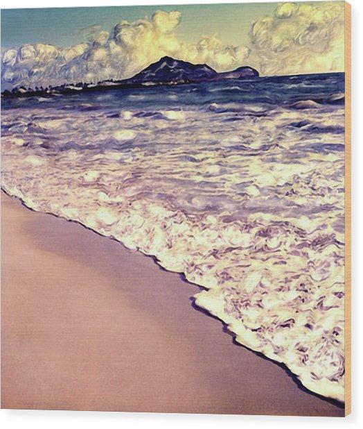 Kailua Beach 2 Wood Print